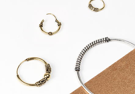 Bali Hoop Earrings Collection