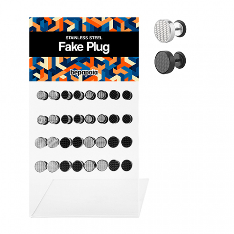 Steel fake plug fiber design