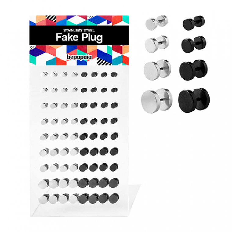 Fake plug plain without oring